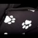 Búda pre psa čierna s labkami