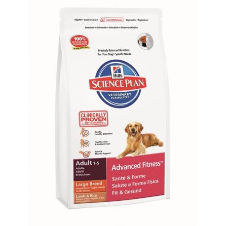HILLS SP Ca Adult Advanced Fitness Large Breed Lamb & Rice