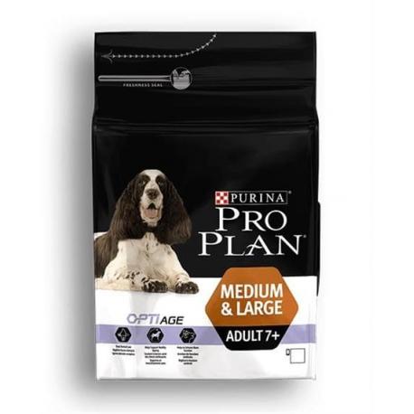 Proplan MO Dog Opti Age Adult Medium/Large 7+ 3kg