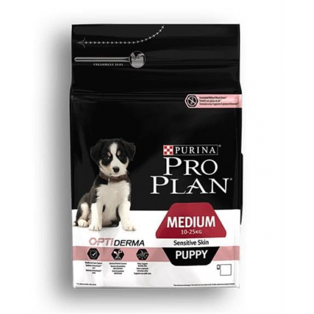 ProPlan MO Dog Opti Derma Puppy Medium Sensitive Skin