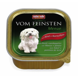 Animonda Vom Feinsten dog ADULT hovädzie a zemiaky 150 g