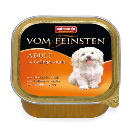 Animonda Vom Feinsten dog ADULT hydina a teľacie 150 g