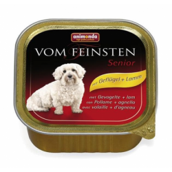 Animonda Vom Feinsten dog SENIOR hydina a jahňa 150 g