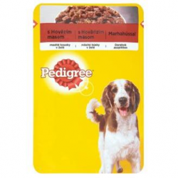 Mars PEDIGREE kapsička dog ADULT s hovädzím mäsom v rôsole 100 g