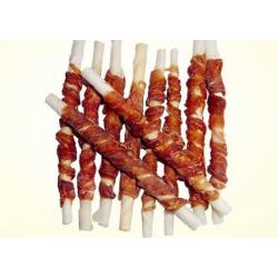 Pamlsok Salač Tyčinka z byvolej kože obalená kačacím mäsom 250 g