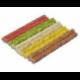 Pamlsok Salač Tyčinky farebné 7-8 mm - 12,5 cm, 100 ks (100/24)