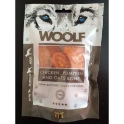 Pamlsok Woolf Dog Chicken & Pumpkin & Oats Bone 100 g