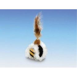 Hračka Nobby cat Loptička s perím priemer 5cm, 23 cm