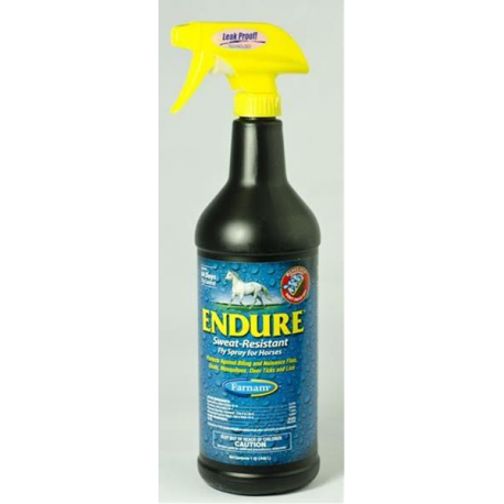 Farnam Endure Sweat Resistant Fly Repelent spray 946ml
