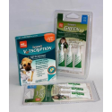 Green Brand repelentný sqeeze on pre psy susp. 12-30 kg 3 x 5 ml