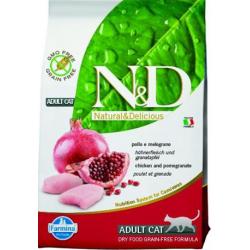 Farmina N&D cat GF adult chicken&pomegranate
