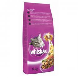Mars WHISKAS Adult cat s kuracím mäsom 14 kg