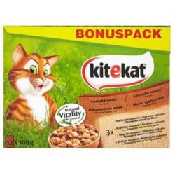 Mars KITEKAT kapsička cat Lovecké menu BONUS 12 ks 1200 g