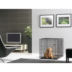 Klietka SAVIC Residence pre psa kovová 107 cm