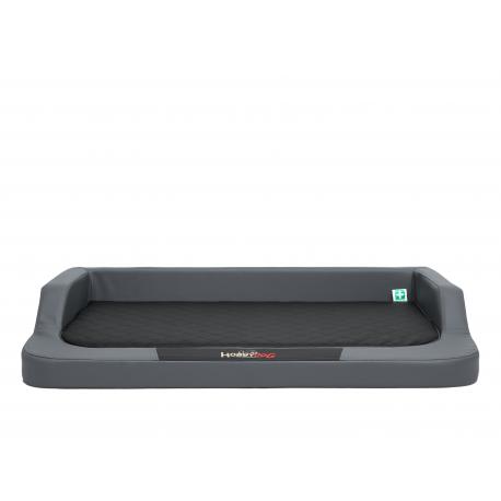Ortopedický pelech pre psa MEDICO LUX grafit s čiernym matracom