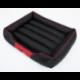 Pelech pre psa CESAR STANDARD čierny s červeným lemom