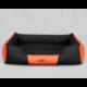 Pelech pre psa COMFORT čierno-oranžový