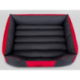 Pelech pre psa COMFORT červeno-šedý