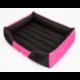 Pelech pre psa COMFORT ružovo-čierny
