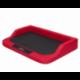 Pelech pre psa MEDICO červený s čiernym matracom