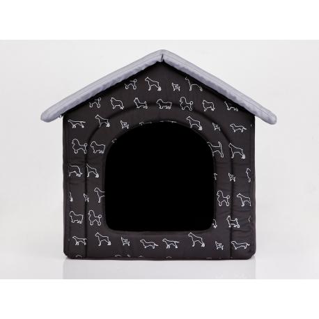 Búda pre psa čierna so psíkmi