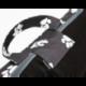 Oválny pelech pre psa PRESTIGE šedý s labkami