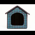 Búda pre psa modrá károvaná