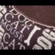 Pelech pre psa NEW YORK hnedý s nápismi