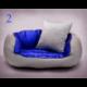 Pelech pre psa NEW YORK lesklý modrý